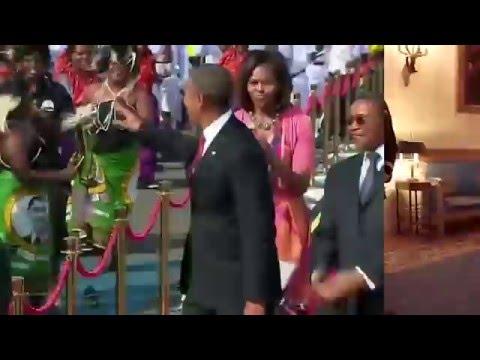 "Barack Obama his best dance moves "" Barack Obama bailando"""
