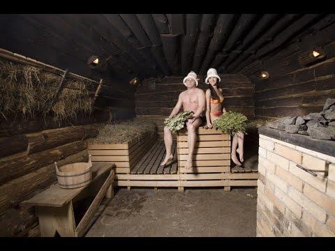 русские бани из дерева