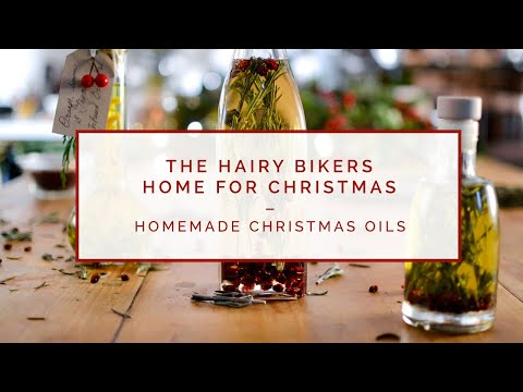 FOODIE ESHE & THE HAIRY BIKERS // Christmas Oils