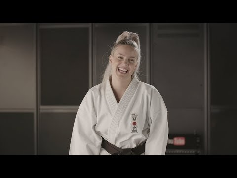 Karate with Anne-Marie BLOOPERS