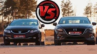 Mazda3 VS Honda Civic. Сравнительный тест