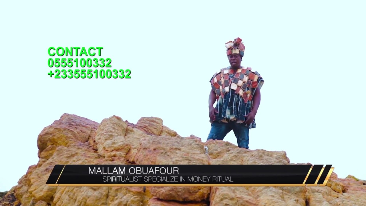 MALLAM OBUAFOUR instant money for the poor 2018