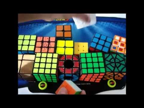 Cubes and Puzzles I got from National Capital Region 2016
