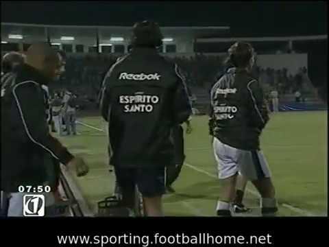 Sporting - 1 x Club Brugge - 1 (3-2 gp) de 2003/2004 Particular