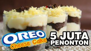 Cara Mudah Membuat Oreo Cheese Cake Lumer