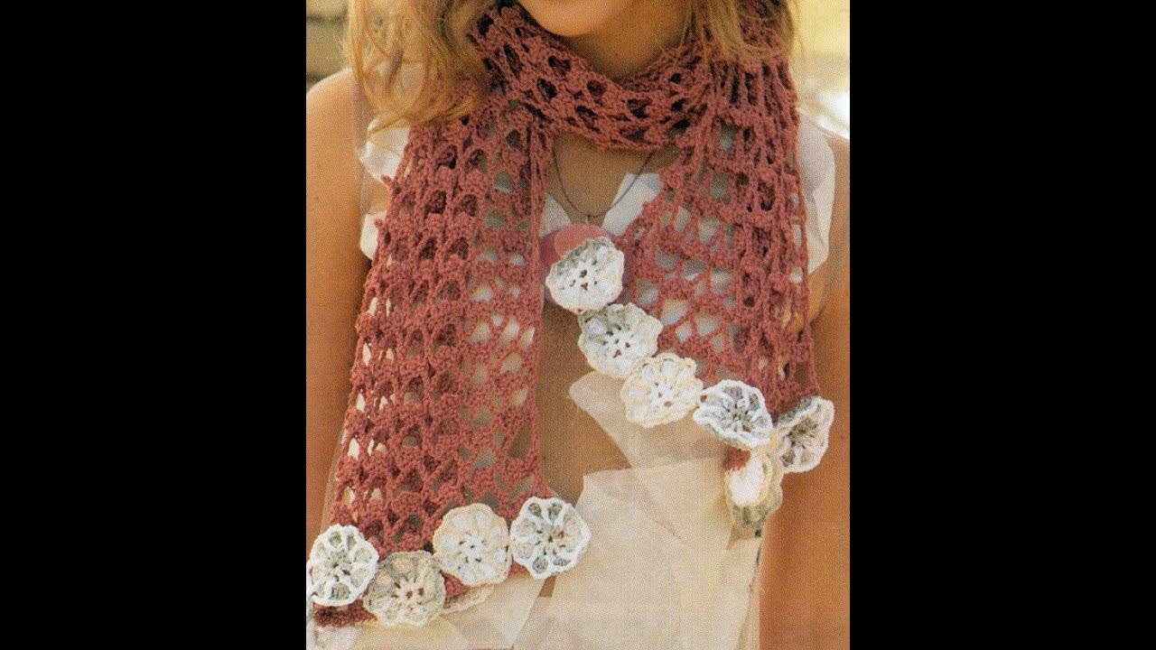 Patrón Para Tejer Chal y Falda a crochet - YouTube