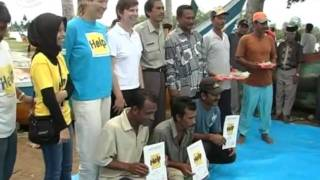 Projekt: Ausbildung von Schmieden - nach dem Tsunami in Indonesien