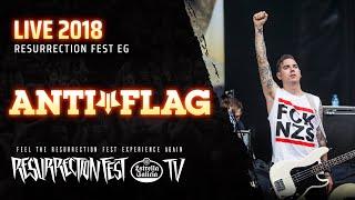 Anti-Flag - Live at Resurrection Fest EG 2018 [Full Show]