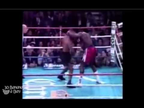Mike Tyson Amazing Defense & His Vegan Diet