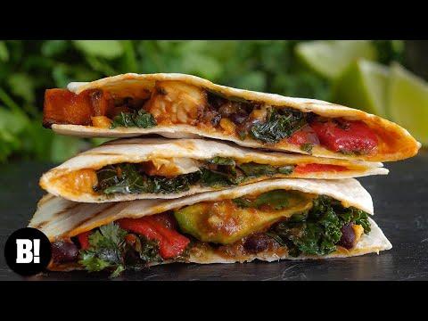 Easy Veggie Quesadillas! – Day 18