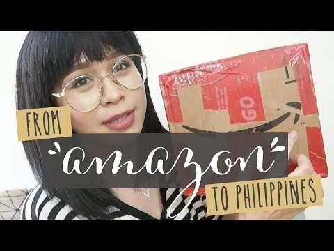 FROM AMAZON TO PH VIA SHIPPING CART | Micamicsdeleon - Philippines