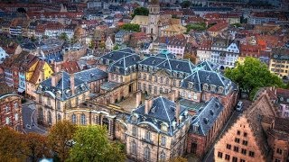 #694. Страсбург (Франция) (супер видео)(Самые красивые и большие города мира. Лучшие достопримечательности крупнейших мегаполисов. Великолепные..., 2014-07-03T01:23:47.000Z)