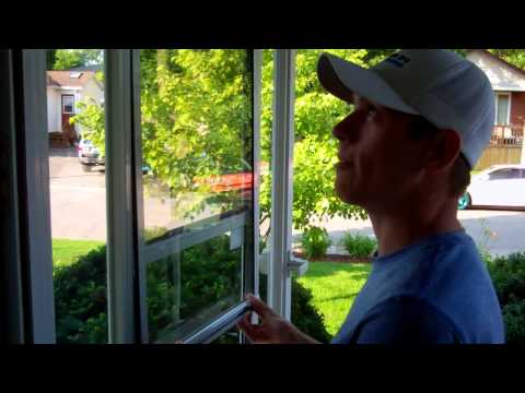 How To Take Apart A Storm Door