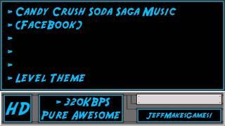 Candy Crush Soda Saga (FaceBook) Music - Level Theme