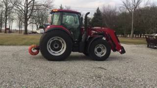 2016 case ih farmall 120c tractor for sale