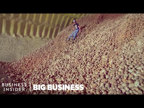Why Millions Of Potatoes Are Being Thrown Away During The Pandemic | Big Business
