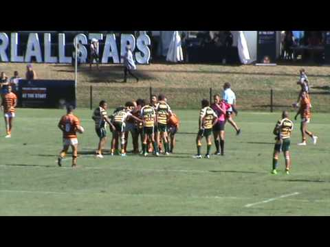 Woolbrook Hawks Smith v Cabbage Tree Island at Newcastle No2 Sportsground 9-2-17 - 4th Quarter