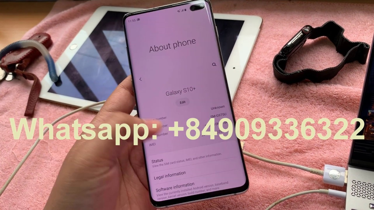 Repair Bad IMEI ESN Samsung Galaxy S10e S10 S10 Plus G970x G973x G975x (  CPID )