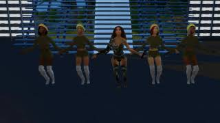 Beyonce - Run the World (Beychella) Live (The Sims 4)
