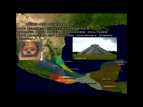 The History of Mesoamerica Timeline in 2 minutes