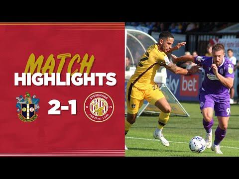 Sutton Stevenage Goals And Highlights