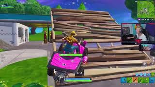 "TFUE USES *NEW* ""SUNFLOWER"" SKIN & ""GOLD DIGGER"" PICKAXE! Fortnite Battle RoyaleGAME"