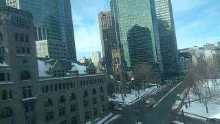 Finally arrived in Montreal, Québec! Hotel room tour!