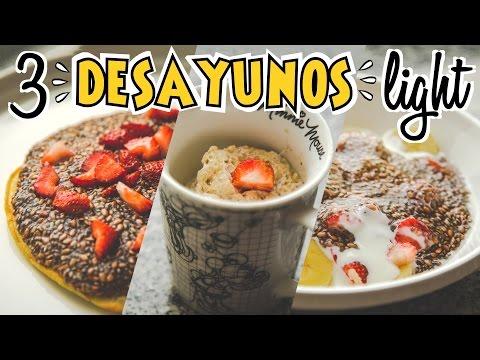 3 Desayunos Sanos Y Rápidos
