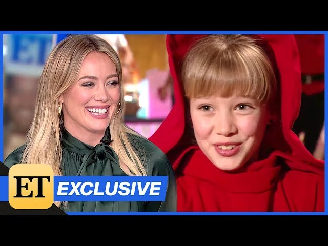 Hilary Duff Reacts to Her First ET Interview (Exclusive)