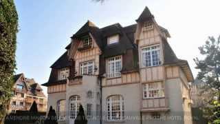 A VENDRE MAISON DE PRESTIGE TRIANGLE D'OR DEAUVILLE PROCHE HOTEL ROYAL (14800)