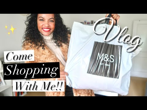 TEDDY COAT, WINTER BOOTS & MORE | M&S SHOPPING VLOG | Layonie Jae