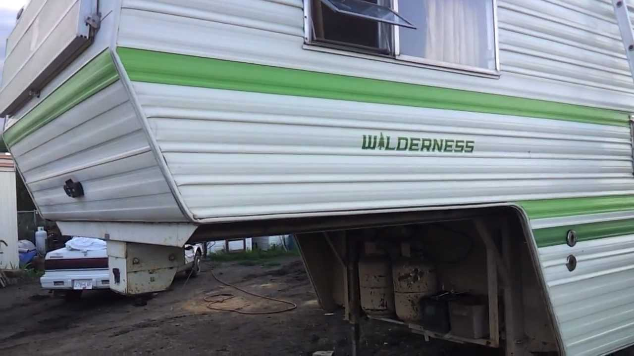 5Th Wheel Campers >> The 26.5 foot Wilderness Fifth wheel Is Done! - YouTube