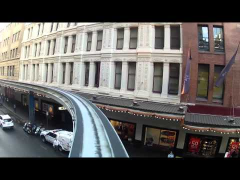 Driving Sydney's Monorail
