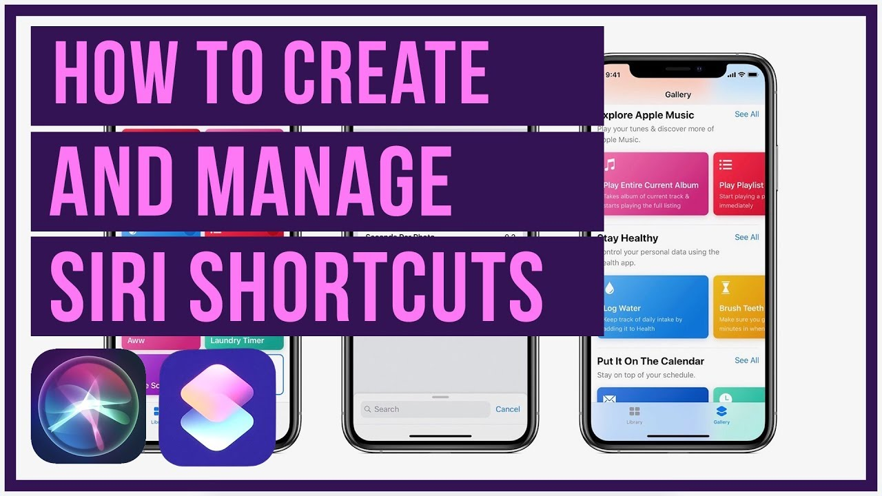 iOS 12 Tutorial - How To Setup and Manage Siri Shortcuts