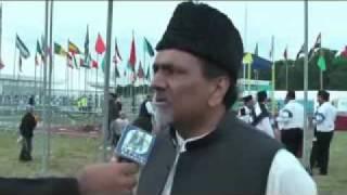 DM Digital Interviewed Ameer Jama'at Ahmadiyya UK at Jalsa Salana UK-2010.