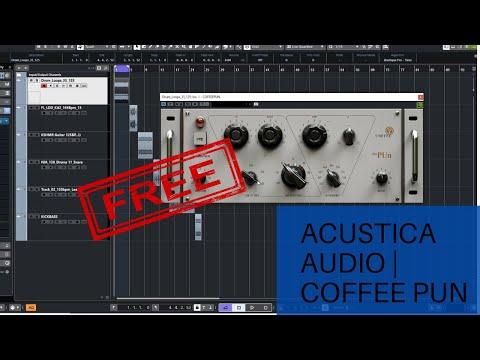 Acustica Audio Coffee The PUn - FREE EQ VST Plugin 2020
