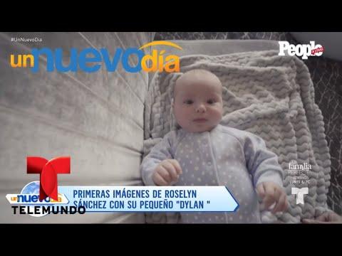 Roselyn Sánchez presentó en público a su pequeño hijo   Un Nuevo Día   Telemundo