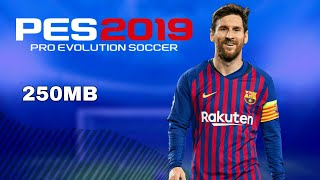 PES 2020 PPSSPP Camera PS4 Android Offline 600MB Best Graphics New
