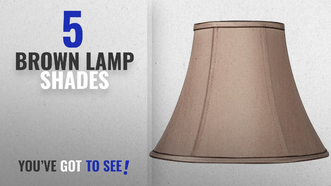 Top 10 Brown Lamp Shades [2018 ]: Springcrest Tan and ...