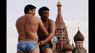2012 Бухэ Барилдаан бурятская борьба Москва Красная площадь