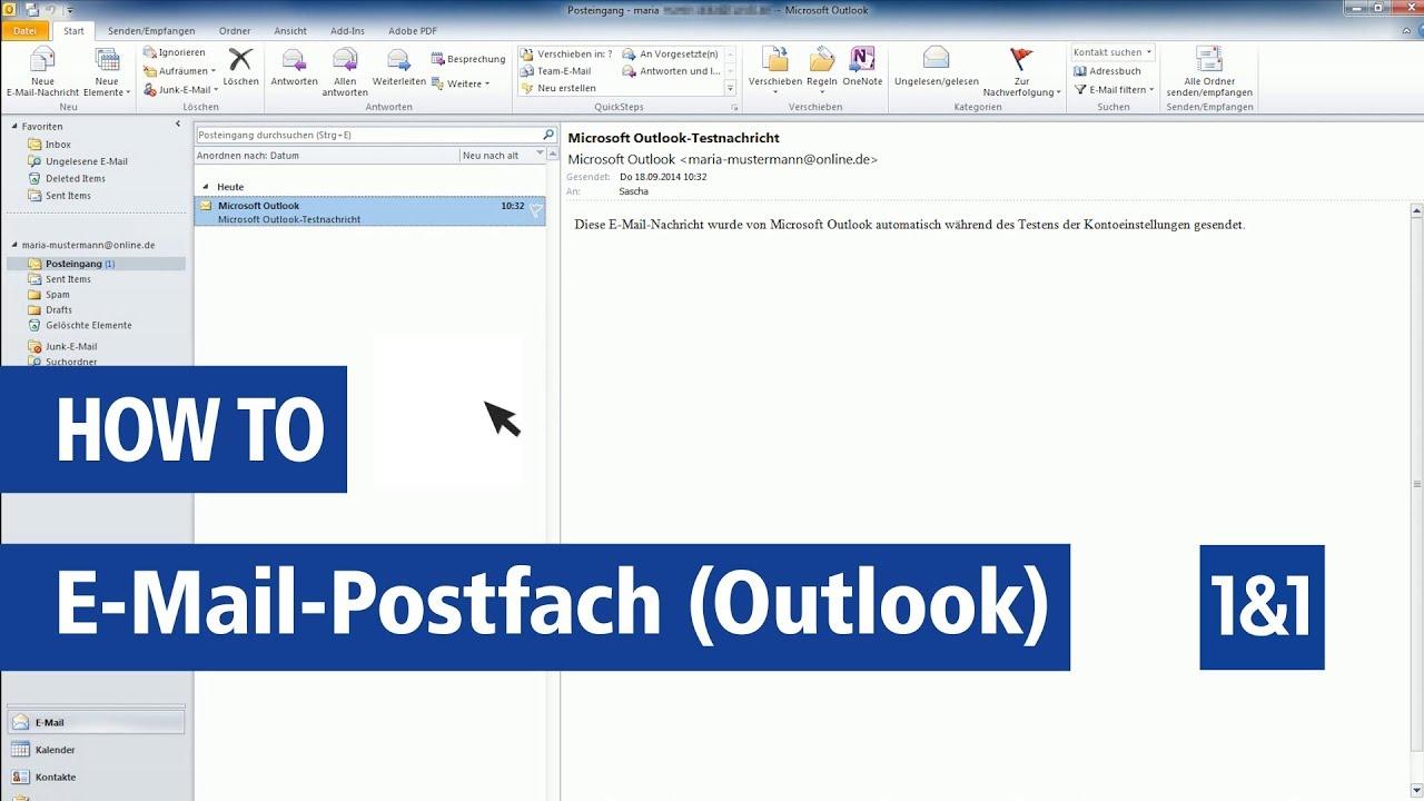 outlook 2013 postfach hinzufügen