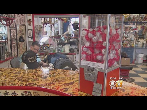'Get What You Get' With Tattoo Vending Machine