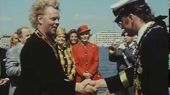 Uuno tapaa Ruotsin kuninkaan