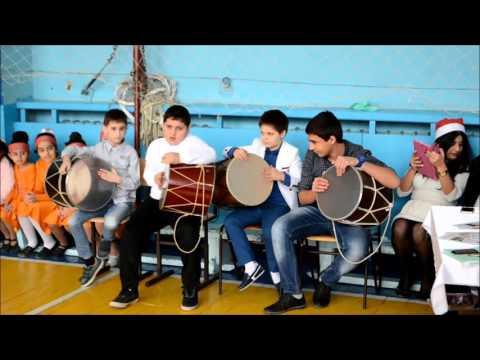 Дхол.Новогодняя ёлка в армянской воскресной школе г.Подольск