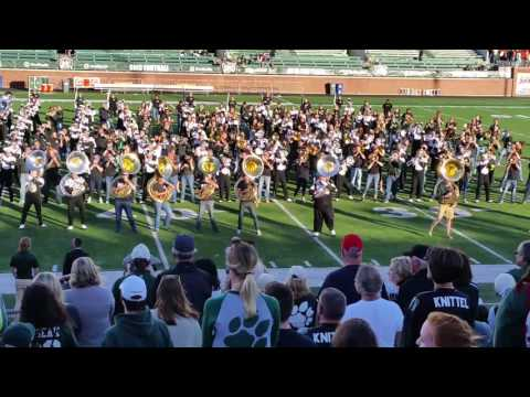 Ohio University Marching 110 Post Game Oct 8, 2016 Homecoming