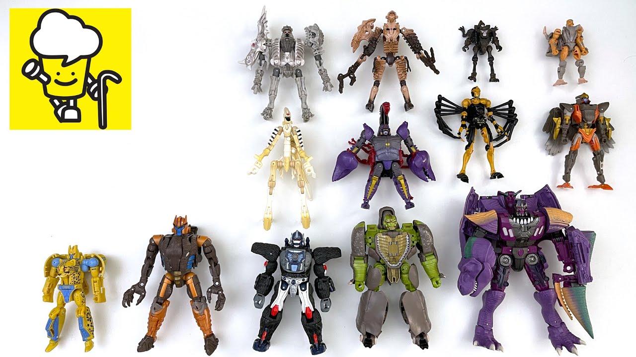 Transformers War for Cybertron Kingdom Netflix Beast Wars Optimus Primal Megatron トランスフォーマー 變形金剛