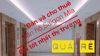 Bán căn hộ Saigon Mia, 70m2, 2PN, 2Tolet, giá 3.450 Tỷ