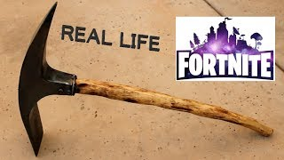 I Made a Real Life Fortnite Pickaxe