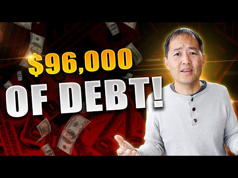 How to get out of $96,000 of debt… including student loans & credit card debt