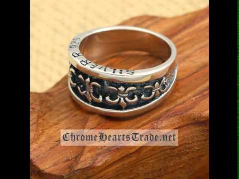 Enjoying Fashion Chrome Hearts Rings in Our Website